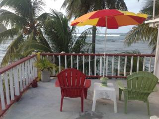 Rainbow Beach Apts. 2 BR, Ocean View with Balcony - Calibishie vacation rentals