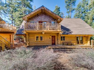 Cozy log cabin with fireplace & close to attractions! - Homewood vacation rentals