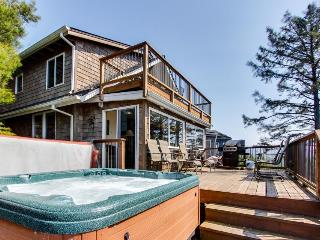 Charming beach house w/private hot tub & stellar ocean view! - Manzanita vacation rentals
