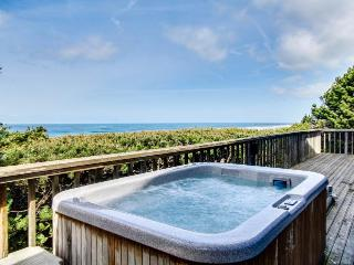 Stunning oceanfront home w/private hot tub and space for 10! - South Beach vacation rentals