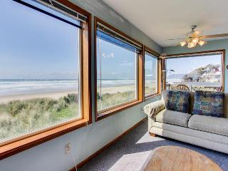 Oceanfront, dog-friendly home perfect for a family beach trip! - Rockaway Beach vacation rentals