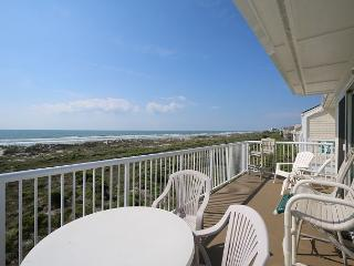 Wrightsville Dunes 3A-F - Oceanfront condo with community pool, tennis, beach - Wrightsville Beach vacation rentals