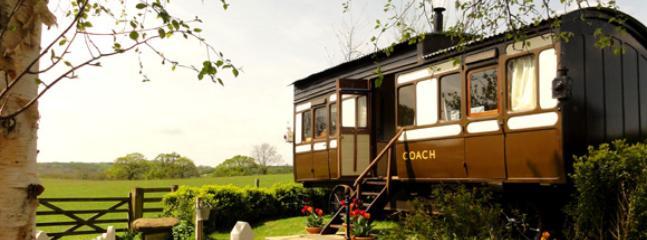 Lovely 2 bedroom Shepherds hut in Bridport - Bridport vacation rentals