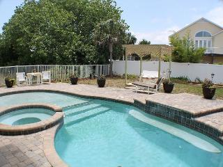 Full Moon, Pet Friendly, 4 Bedroom, 3 1/2 Bath, Private Pool, Ocean View - Crescent Beach vacation rentals