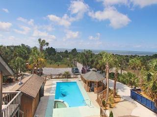 Room to Roam 2-Acre Beachfront Home with Pool/Spa, Fishing Dock, Boat Ramp - Port Saint Joe vacation rentals
