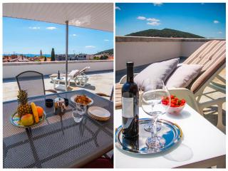 Penthouse Terrace with sea view - Split vacation rentals