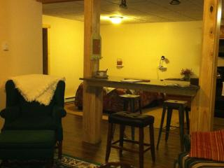 Built in 2013, Lake Placid Village Apartment - Lake Placid vacation rentals