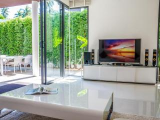 Contemporary Pool Villa-sleeps 6 in 3 double beds  with private bathroom access - Plai Laem vacation rentals