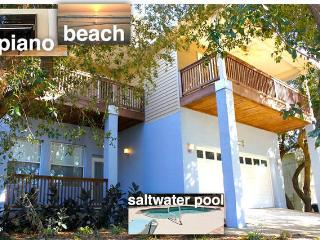 Green Modern newer beach house with private heated pool - Saint Augustine Beach vacation rentals