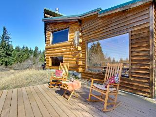 Authentic dog-friendly cabin with modern amenities on five acres! - White Salmon vacation rentals