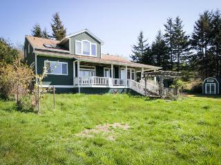 Spacious, modern house w/stunning bay views, close to Lopez Village and marina! - Lopez Island vacation rentals