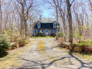 Quiet, secluded vacation home in the woods w/ outdoor shower - Martha's Vineyard vacation rentals