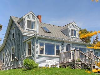 Traditional rustic Maine cottage with water on two sides! - Boothbay vacation rentals