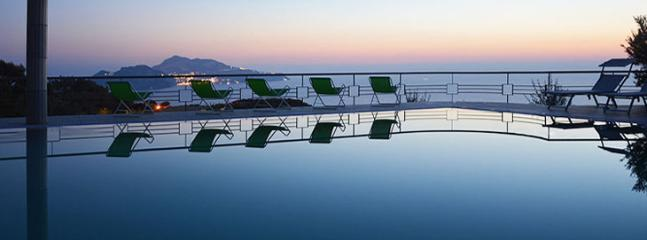 swimming pool with panoramic view - le rose - Massa Lubrense - rentals
