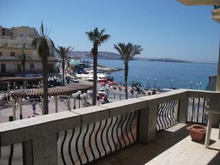 Seaview Apartment - central & spacious - Bugibba vacation rentals