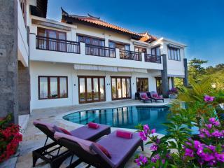 Ocean Villa with panoramic views and pool fence - Jimbaran vacation rentals