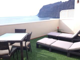 EXCLUSIVE ROMANTIC PENTHOUSE WITH SUNNY TERRACE - Los Gigantes vacation rentals