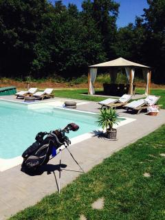 Villa bifamiliare con piscina sul golf - Acquapendente vacation rentals