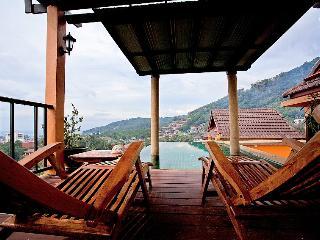 Elevated sea view 3 bed villa at Karon - Ban Khok Chang vacation rentals