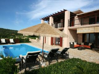 LAST MINUTE seafront villa EVA 4+2 pers, pool, terms 22-28.7.180EUR/night - Lefkas vacation rentals