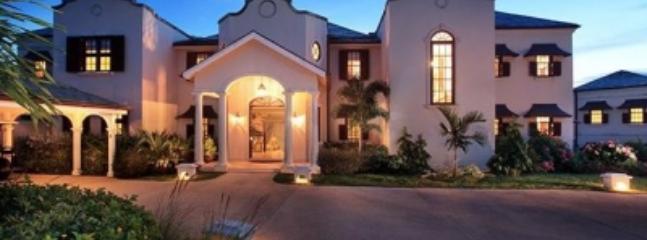 Front exterior. - Tremendous 6 Bedroom Villa in Royal Westmoreland - Westmoreland - rentals
