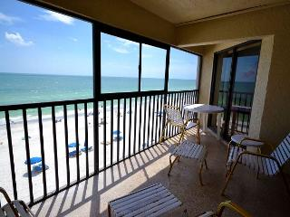 Arie Dam 402 - Nicely Renovated Gulf Front Condo with Balcony, Pool and Spa! - Madeira Beach vacation rentals
