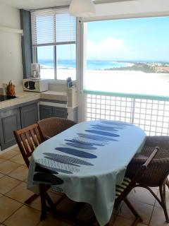 Studio vue mer dans residence calme - Orient Bay vacation rentals