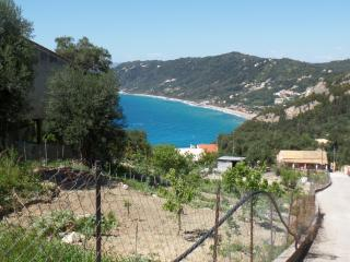 Quiet sea view apartment for 4-5 p  near  beach - Agios Gordios vacation rentals