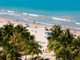 Breathtaking View. **New** A Beachfront Gem - Isla Verde vacation rentals