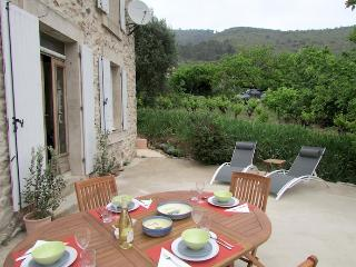 Nice 4 bedroom Roquebrun House with Internet Access - Roquebrun vacation rentals