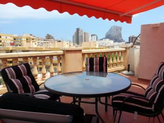 Nice flat with terrace in Calpe by the beach - Calpe vacation rentals