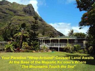 Country Garden House - w/ amazing mountain view - Kaaawa vacation rentals