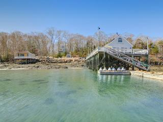 Quiet, family-friendly waterfront escape with private marina - East Boothbay vacation rentals