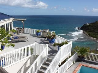 Andante by the Sea, 3 bdrm, 3 bath, Oceanfront - Chocolate Hole vacation rentals