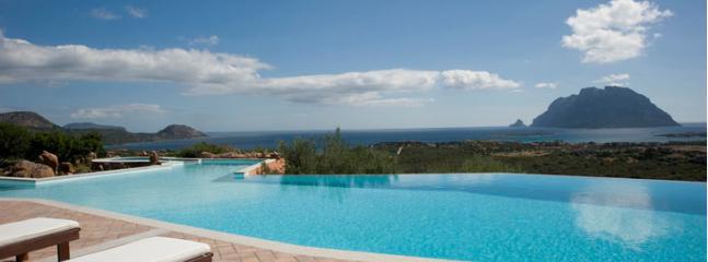 view of Tavolara island - villa volpe - Olbia - rentals