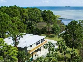 Easygoing St. Joe's Bay Front Home, Screened in Pool, Fenced Yard, Firepit - Cape San Blas vacation rentals