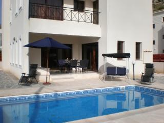 Villa Calypso – modern luxury villa in Peyia, near Coral Bay Beach, w/ private pool and sea views - Paphos vacation rentals