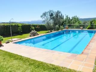 Adorable Rural Andalusian apartment in a private villa w/ large pool, mountain views & private garden - Arriate vacation rentals