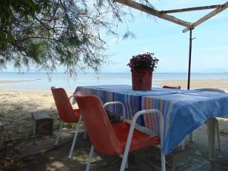 Beach front  4 p. quiet,relax - Perivoli vacation rentals
