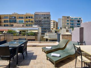038 Stunning Views Sliema 2-bedroom Penthouse - Sliema vacation rentals