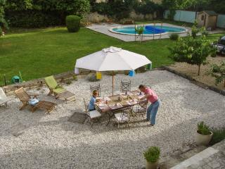 Enchanting stone farmhouse in the Charente Region w terrace, gardens, private pool – near Angoulême - Montignac Charente vacation rentals