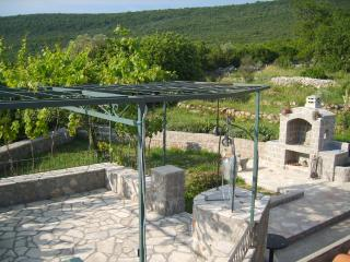 Stylish, modern apartment in Radovici, Lustica Peninsula, w/ ball court and mountain- & sea views - Radovici vacation rentals
