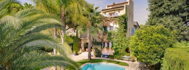Juan Les Pins Villa Villa on the French Riviera, southern France villa, holiday on the Riviera - Juan-les-Pins vacation rentals