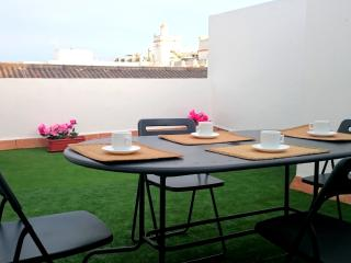 Central apartment in Puerto de Santa Maria w/ air con & terrace – next to Osborne Bodegas & Theatre - El Puerto de Santa Maria vacation rentals