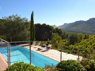 La Cadiere d'Azur Var, Superb villa 9p, Private pool, 3ml from the beaches - La Cadiere d'Azur vacation rentals