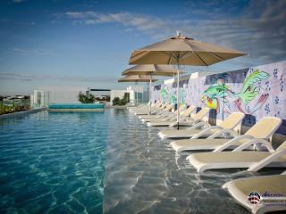 Mod 2 Br/ Beach steps/ Pool Rooftop - Playa del Carmen vacation rentals