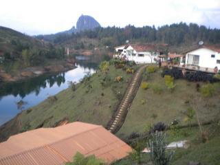 Newly Built Waterfront Cabana - El Peñol 0201 - Guatape vacation rentals
