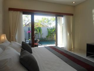Fantastic 2 bed pvt pool walk everywhere sleeps 5 - Sanur vacation rentals