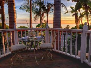 2BR/2BA Historic Home with Ocean Views, Walk to Beach, Sleeps 6 - Summerland vacation rentals