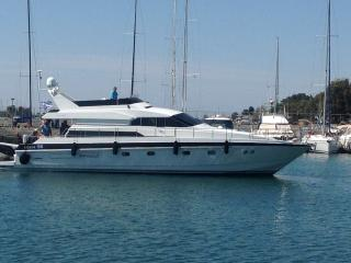 Beautiful Yacht with Deck and Internet Access - Nea Fokea vacation rentals